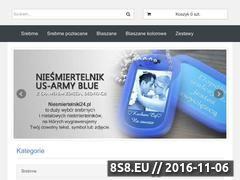 Miniaturka domeny niesmiertelniki24.pl