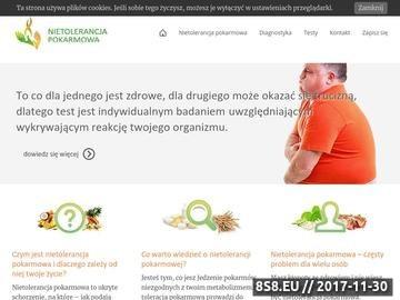 Zrzut strony Portal o zdrowiu