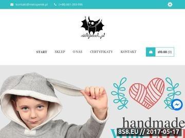 Zrzut strony Ubranka dla dzieci