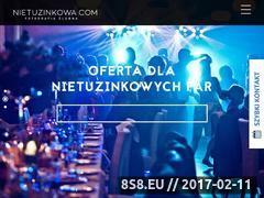 Miniaturka domeny www.nietuzinkowa.com