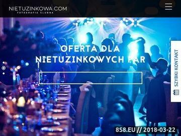 Zrzut strony Nietuzinkowa Fotografia Ślubna - Wrocław