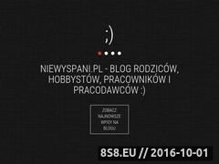 Miniaturka domeny www.niewyspani.pl
