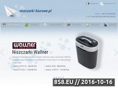 Miniaturka domeny niszczarki-biurowe.pl