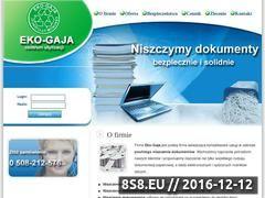 Miniaturka domeny www.niszczymydokumenty.pl