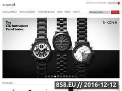 Miniaturka domeny www.nixonnow.pl