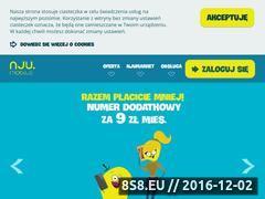 Miniaturka domeny www.njumobile.pl