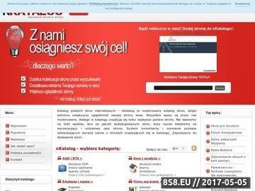 Zrzut strony Polskie strony internetowe - nKatalog