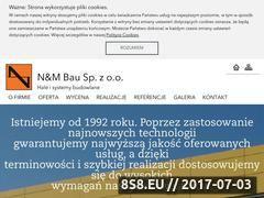 Miniaturka domeny www.nm-bau.pl