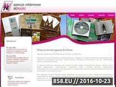 Miniaturka Agencja Reklamowa NO NAME (www.no-name.nfirma.pl)