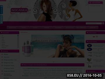 Zrzut strony NOCANKA.PL - Hurtownia kosmetyków - Kosmetyka profesjonalna