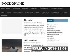 Miniaturka domeny www.noceonline.pl