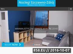 Miniaturka domeny nocleg-szczawno.pl