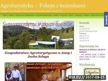 Zrzut strony SZLAGA Noclegi Ochotnica Górna