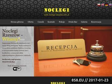 Zrzut strony Noclegi Rzeszów - tanie noclegi