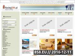 Miniaturka domeny www.noclegi24h.pl