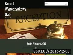 Miniaturka domeny noclegigabi.com.pl