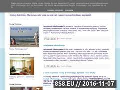 Miniaturka domeny noclegikolobrzeg.blogspot.com