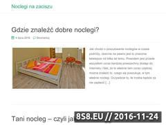 Miniaturka domeny nocleginazaciszu.pl