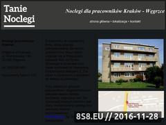 Miniaturka domeny www.noclegipracownicze.krakow.pl