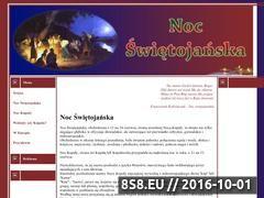 Miniaturka domeny www.nocswietojanska.swieta.biz