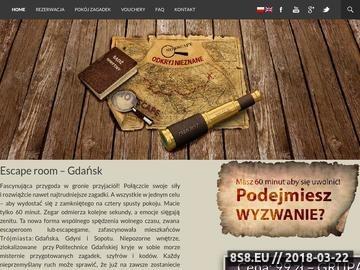 Zrzut strony NOESCAPE.PL