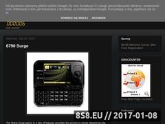 Thumbnail of Nokia mobile features Website