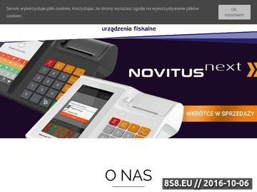 Zrzut strony Wagi sklepowe Noma System
