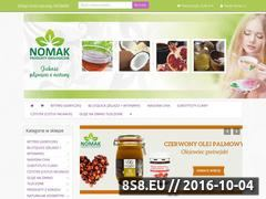 Miniaturka domeny www.nomak.pl