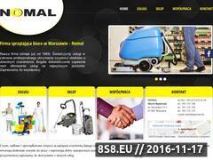 Miniaturka domeny nomal.waw.pl