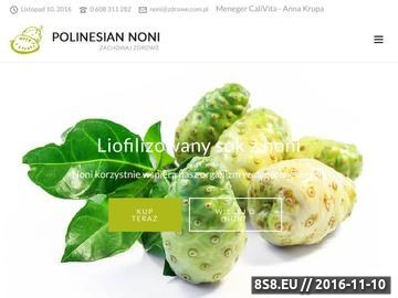 Zrzut strony Noni Sok Noni Medycyna Naturalna Zdrowie Naturalne produkty Suplementy Diety Calivita