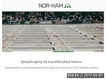 Zrzut strony Nor-Kam - usługi budowlane