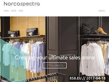 Zrzut strony Meble sklepowe i wyposażenie sklepów.