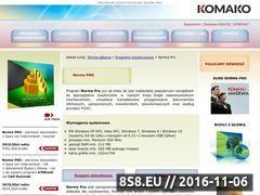 Miniaturka domeny www.norma-pro.com.pl