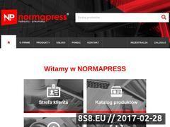 Miniaturka domeny normapress.pl