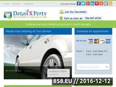 DetailXPerts of North Georgia Website