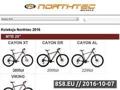 Miniaturka domeny www.northtec-bike.com