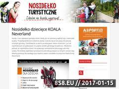 Miniaturka domeny www.nosidelko.com.pl