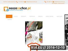 Miniaturka domeny noszecochce.pl