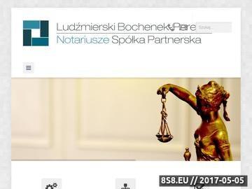Zrzut strony Ludźmierski Bochenek - kancelaria notarialna Kraków