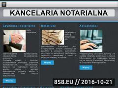 Miniaturka domeny www.notariusz-ekiert.pl