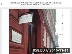 Miniaturka domeny www.notariusz-kancelaria24.pl