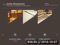 Miniaturka domeny www.notariusz-mokotow.com