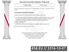 Miniaturka domeny notariusz-rejent-warszawa.pl