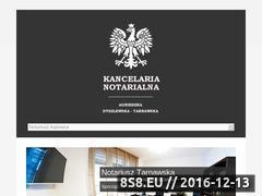 Miniaturka domeny www.notariusz-tarnawska.pl