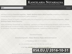 Miniaturka domeny notariusz-wajda.pl