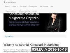 Miniaturka domeny www.notariusz-wroclaw.pl