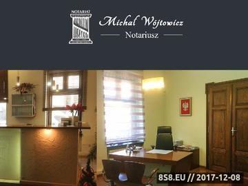 Zrzut strony Michał Wójtowicz - notariusze Bielsko