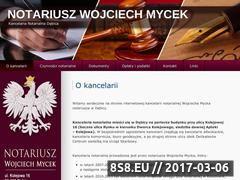 Miniaturka domeny www.notariusz.debica.pl