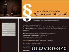 Miniaturka domeny notariuszbochnia.com