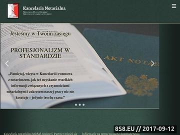 Zrzut strony Kancelaria notarialna Katowice - Notariusze-Grajner